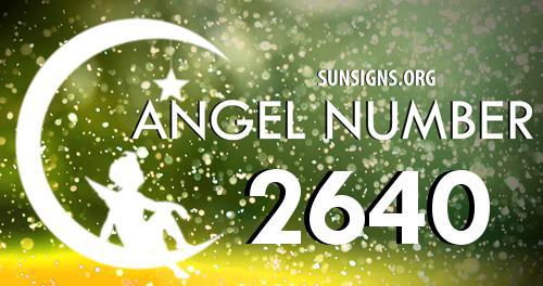 angel number 2640