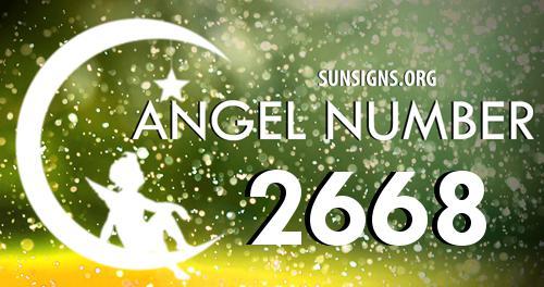 angel number 2668