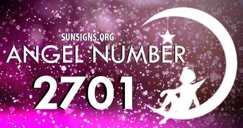 angel number 2701