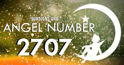 angel number 2707