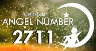 angel number 2711