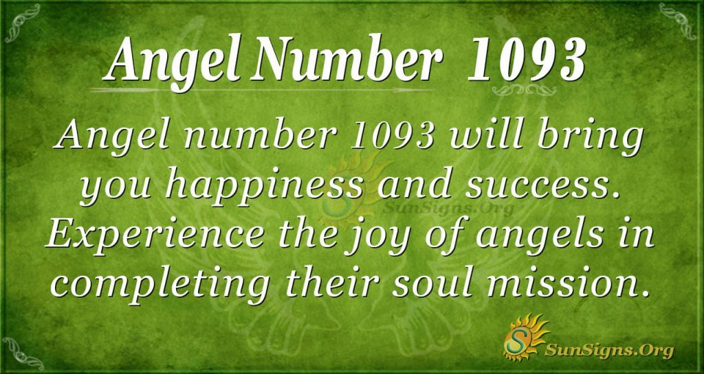 angel number 1093