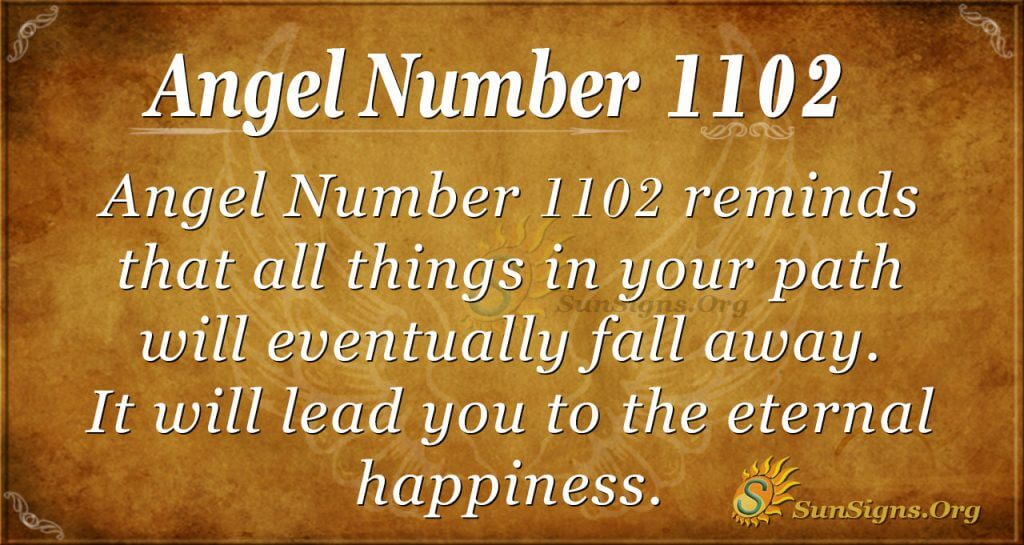 angel number 1102