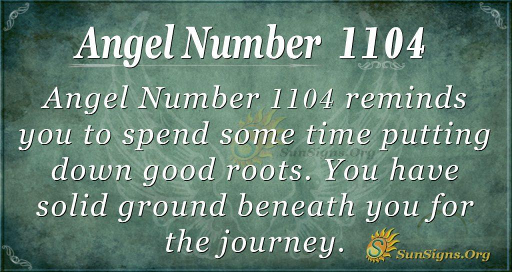 angel number 1104
