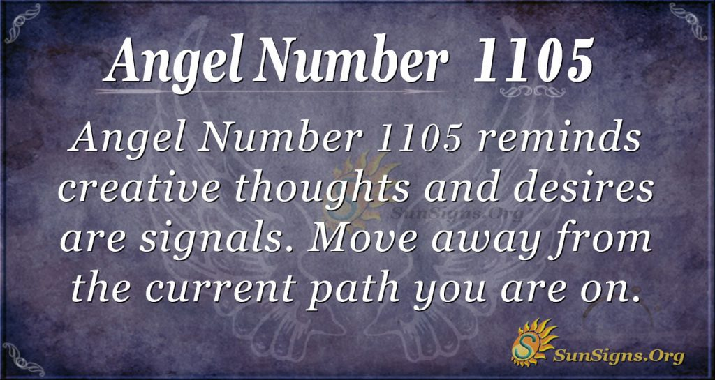 angel number 1105