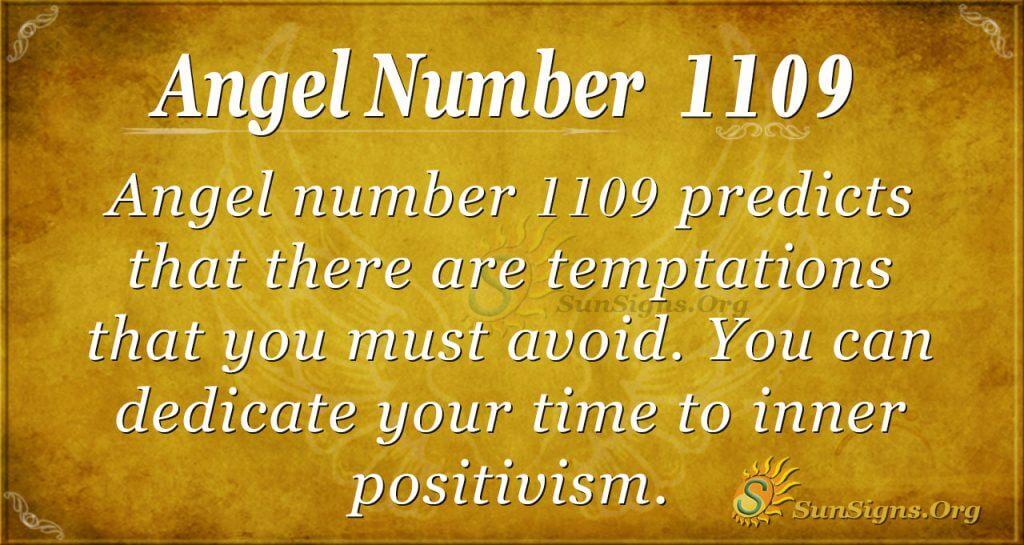 angel number 1109