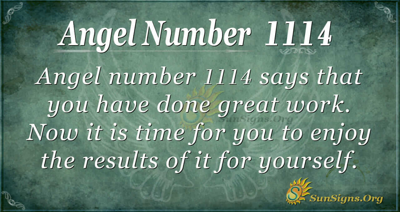 Angel Number 1114 Meaning
