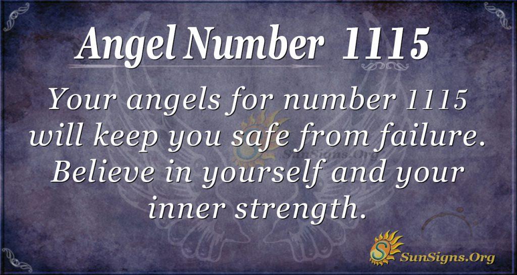 angel number 1115