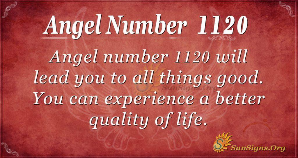 angel number 1120