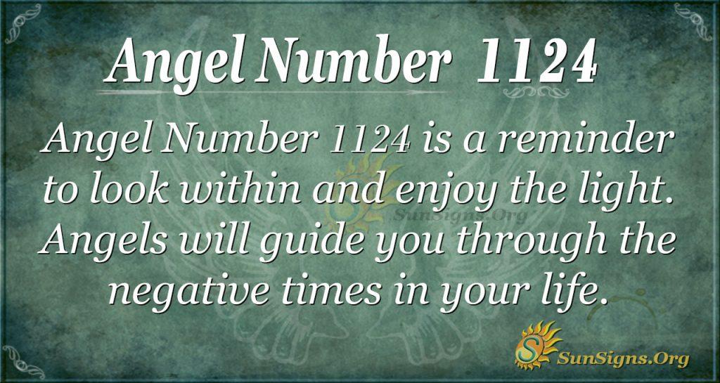 angel number 1124