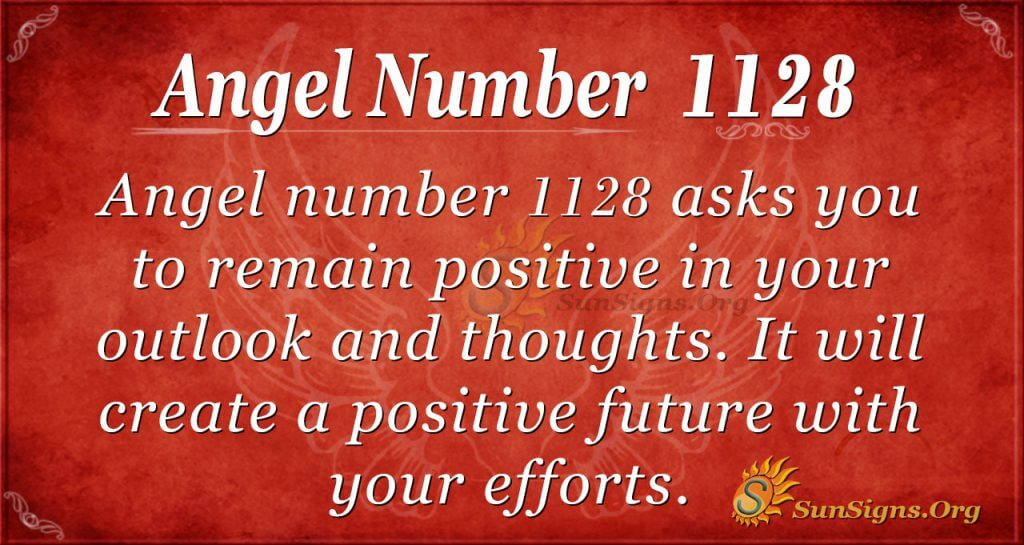 angel number 1128