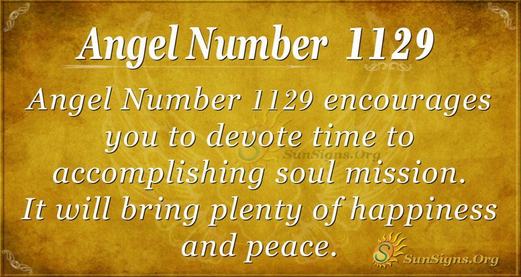 angel number 1129