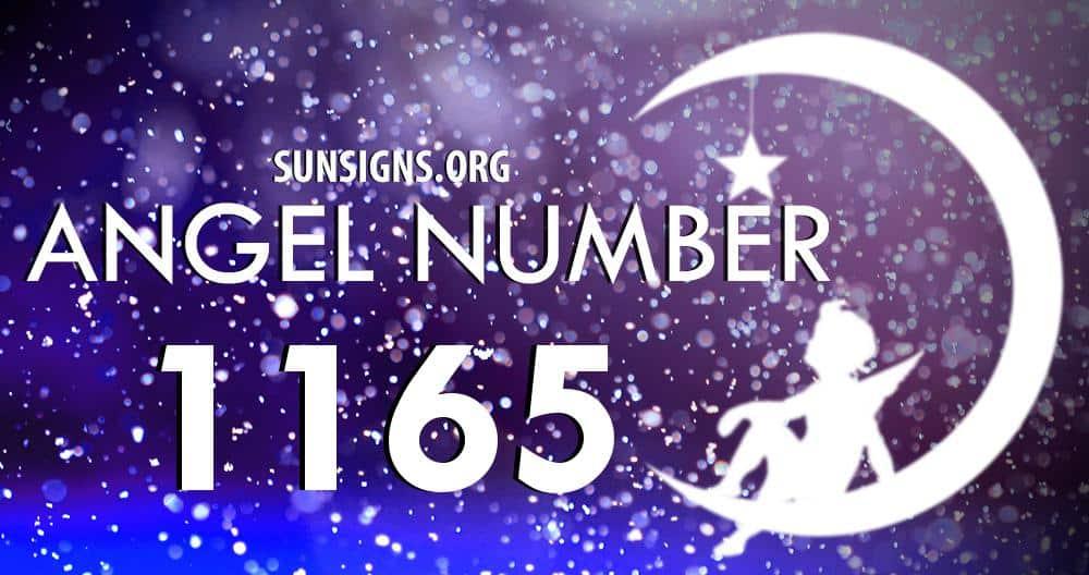 angel number 1165