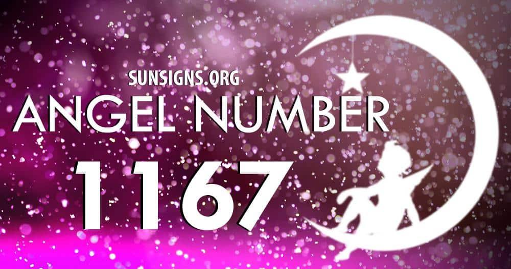 angel number 1167