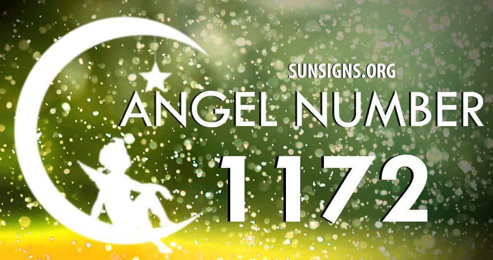 angel number 1172