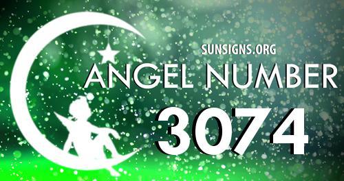 angel number 3074