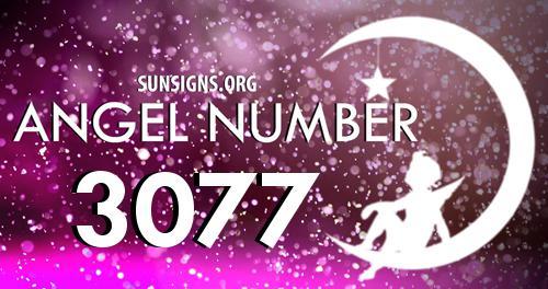 angel number 3077