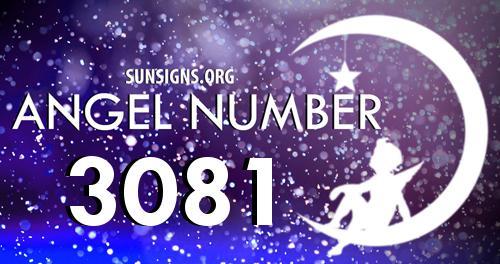 angel number 3081