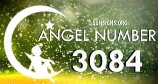 angel number 3084