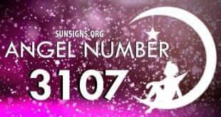 angel number 3107