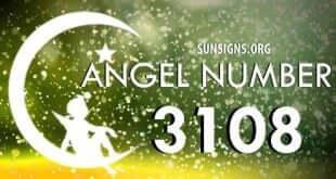angel number 3108