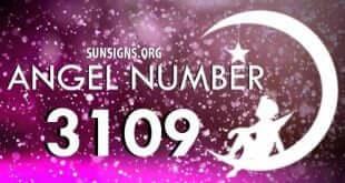 angel number 3109