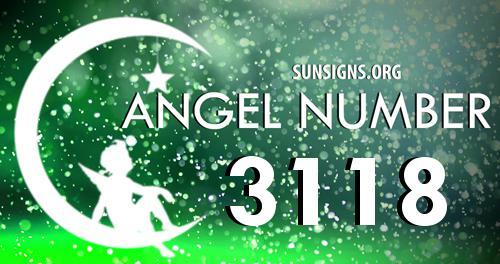 angel number 3118
