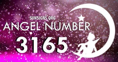 angel number 3165