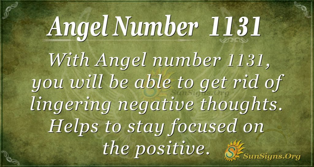 angel number 1131