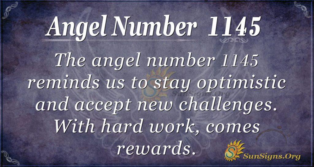 angel number 1145