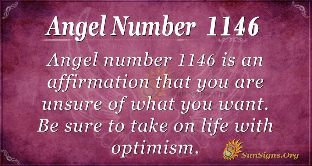 angel number 1146