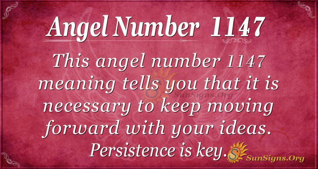 angel number 1147