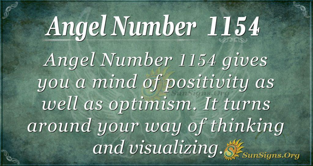 angel number 1154