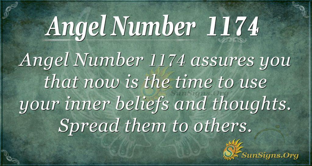 angel number 1174