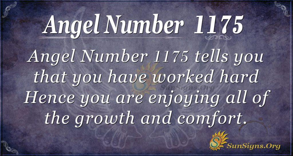 angel number 1175