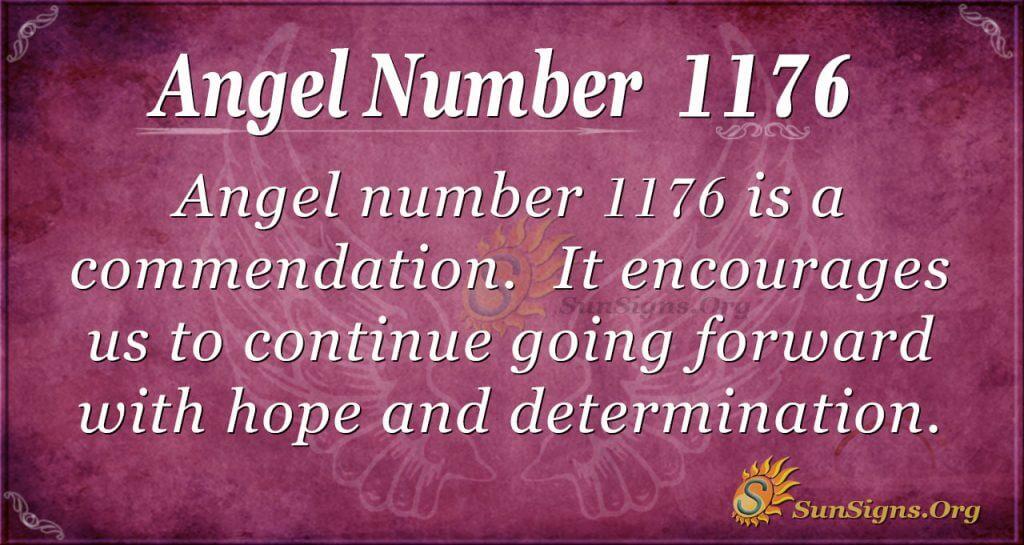 angel number 1176