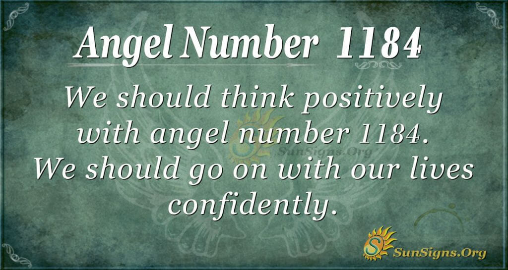angel number 1184