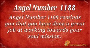 Angel Number 1188