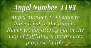 angel number 1193