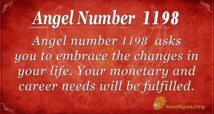 angel number 1198