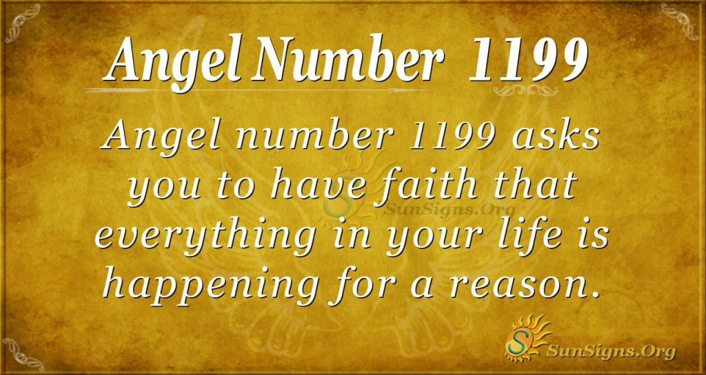 Angel Number 1199