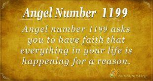 Angel Number 1199