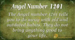 angel number 1201