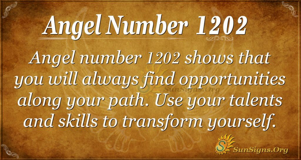 angel number 1202