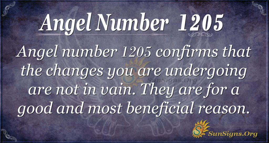 angel number 1205