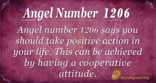 angel number 1206