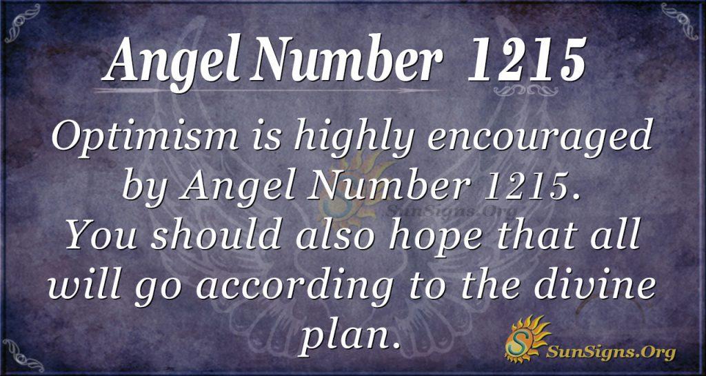 angel number 1215