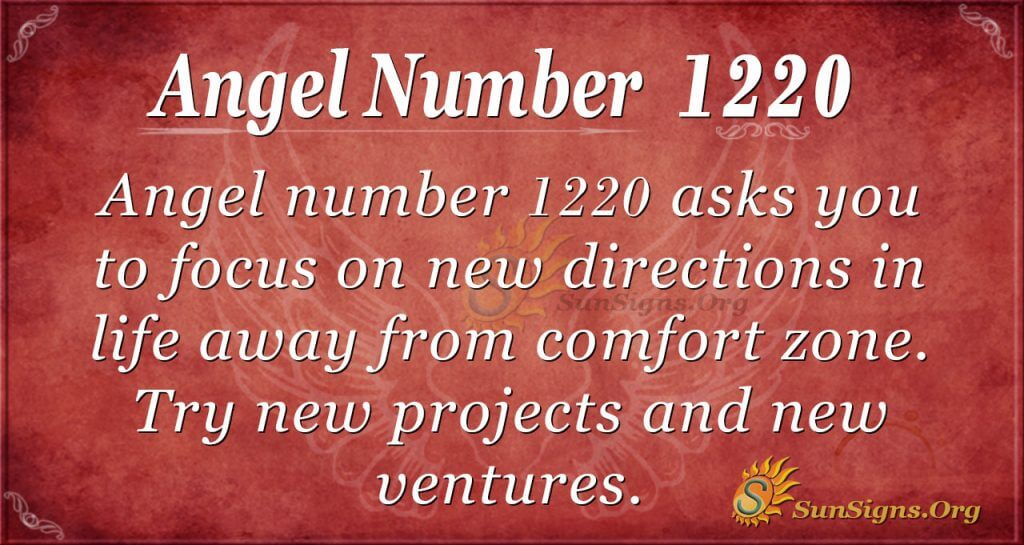 angel number 1220