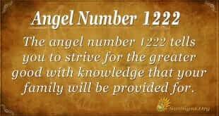 Angel Number 1222