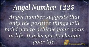 angel number 1225